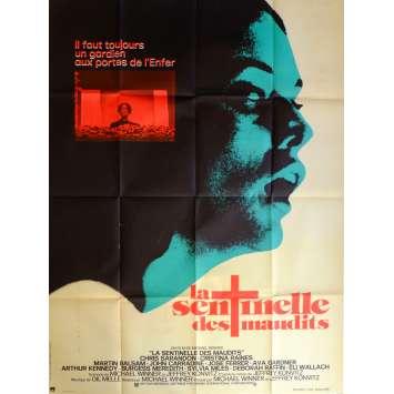 LA SENTINELLE DES MAUDITS Affiche de film 120x160 cm - 1977 - Cristina Raines, Michael Winner
