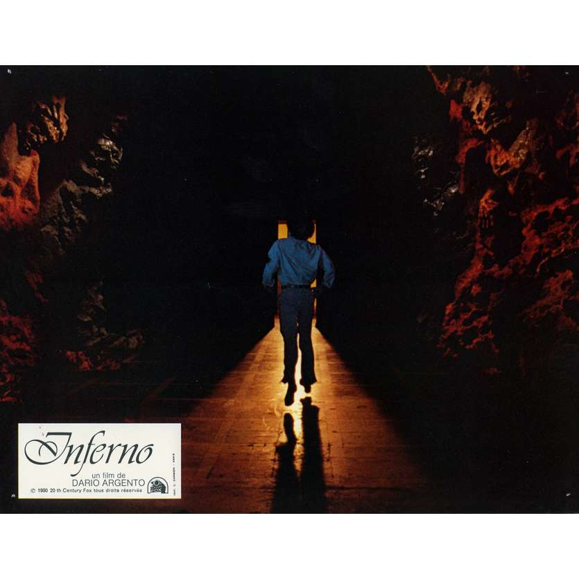 INFERNO Photo de film N2 21x30 cm - 1980 - Leigh McCloskey, Dario Argento