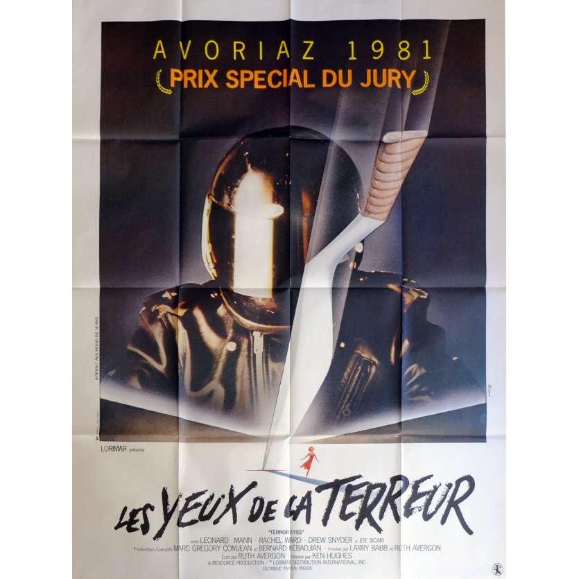 LES YEUX DE LA TERREUR Affiche de film 120x160 cm - 1981 - Leonard Mann, Ken Hughes