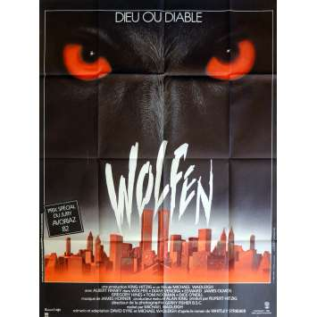 WOLFEN Movie Poster 47x63 in. French - 1981 - Michael Wadleigh, Albert Finney