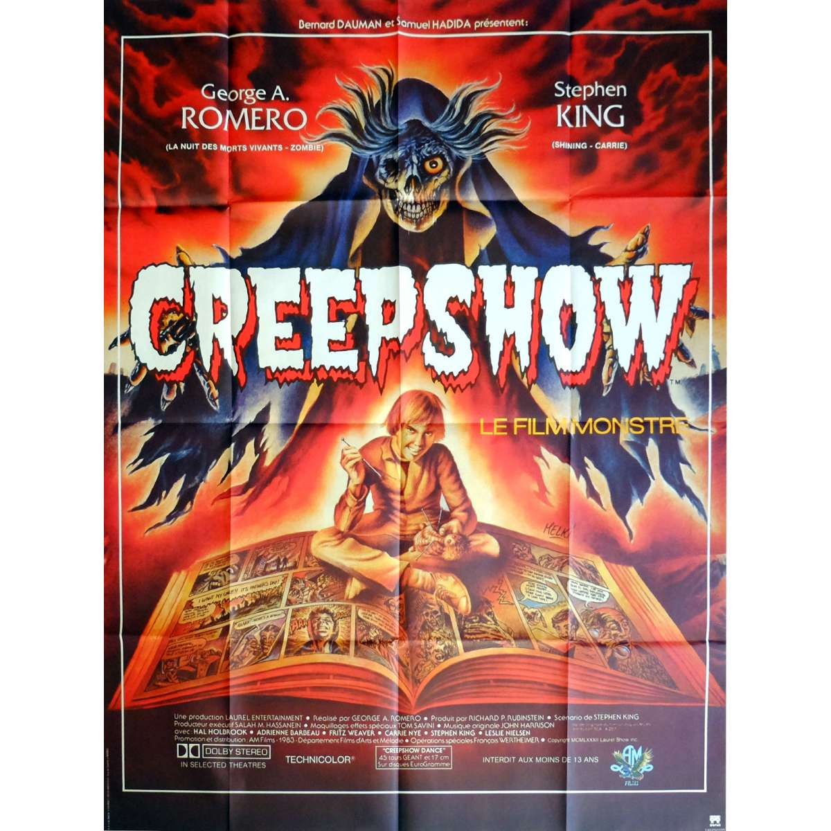 affiche de creepshow. Black Bedroom Furniture Sets. Home Design Ideas