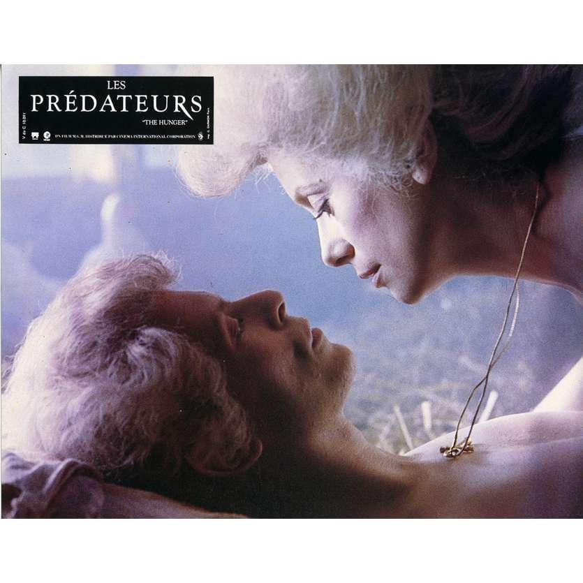 LES PREDATEURS Photo de film N3 21x30 cm - 1983 - David Bowie, Tony Scott