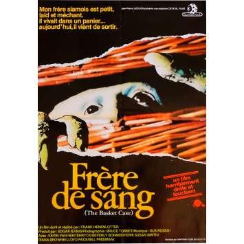 BASKET CASE Movie Poster 15x21 in. French - 1982 - Franck Henenlotter, Kevin van Hentenryck
