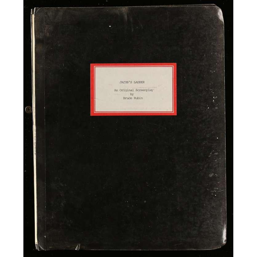 JACOB'S LADDER Movie Script 9x12 in. USA - 1990 - Adrian Lyne, Tim Robbins