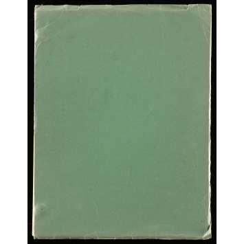 RAMBO Scénario 21x30 cm - 1974 - Sylvester Stallone, Ted Kotcheff