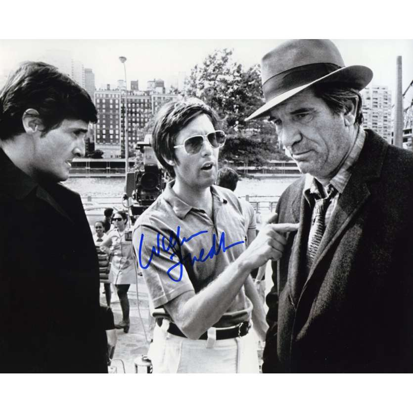 WILLIAM FRIEDKIN Signed Photo 8x10 in. French - 1980 - William Friedkin,