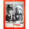 BONNIE AND CLYDE Affiche de film 60x80 cm - 1967 - Warren Beatty, Arthur Penn