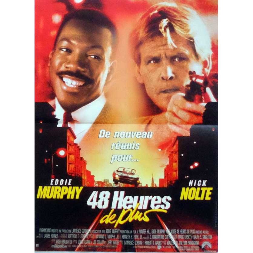 48 HEURES DE PLUS Affiche de film 40x60 cm - 1990 - Eddie Murphy, Walter Hill