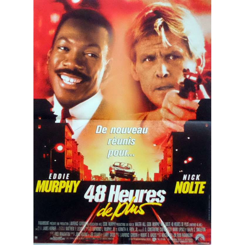 ANOTHER 48 HOURS Movie Poster 15x21 in. French - 1990 - Walter Hill, Eddie Murphy