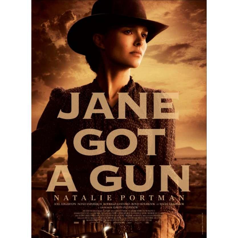 JANE GOT A GUN Movie Poster 15x21 in. French - 2015 - Gavin O'Connor, Natalie Portman