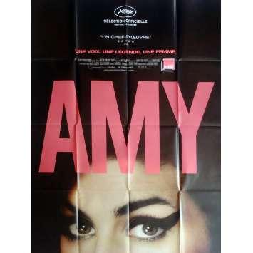 AMY Affiche de film 120x160 cm - 2015 - Amy Winehouse, Asif Kapadia