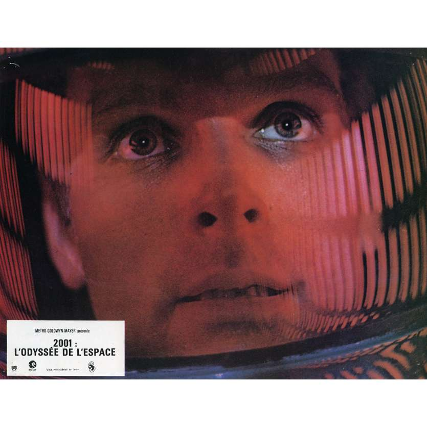 2001 A SPACE ODYSSEY Lobby Card N1 9x12 in. French - 1970 - Stanley Kubrick, Keir Dullea