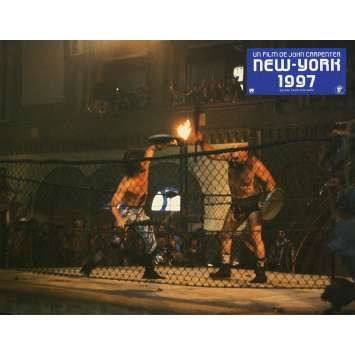 NEW-YORK 1997 Photo de film N3 21x30 cm - 1981 - Kurt Russel, John Carpenter