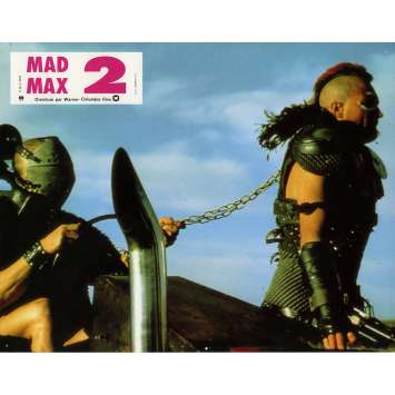 MAD MAX 2: THE ROAD WARRIOR Lobby Card N2 9x12 in. French - 1982 - George Miller, Mel Gibson