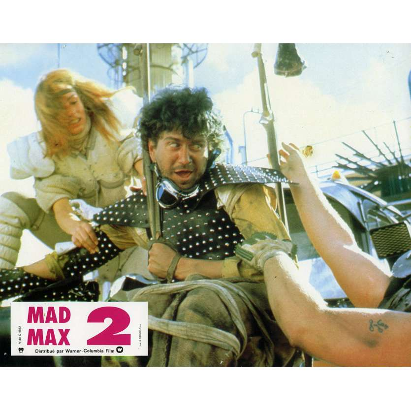 MAD MAX 2: THE ROAD WARRIOR Lobby Card N4 9x12 in. French - 1982 - George Miller, Mel Gibson