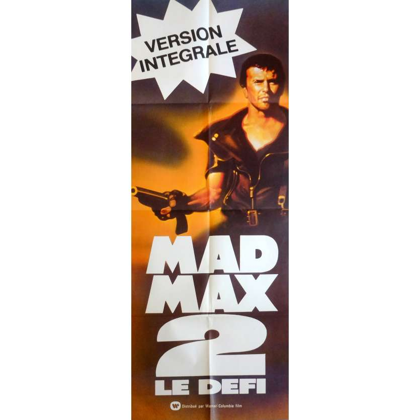 MAD MAX 2: THE ROAD WARRIOR Movie Poster 23x63 in. French - 1982 - George Miller, Mel Gibson