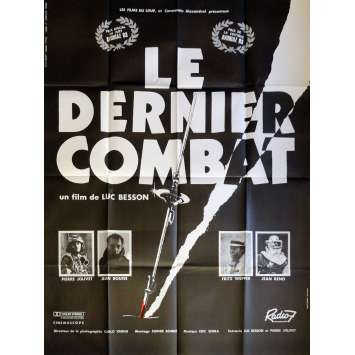THE LAST BATTLE Movie Poster 47x63 in. French - 1983 - Luc Besson, Jean Reno