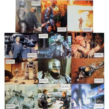 ROBOCOP Photos de film x12 21x30 cm - 1986 - Nancy Allen, Paul Verhoeven