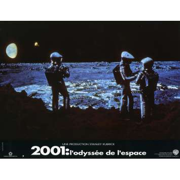 2001 A SPACE ODYSSEY Lobby Card N5 9x12 in. French - 1990 - Stanley Kubrick, Keir Dullea