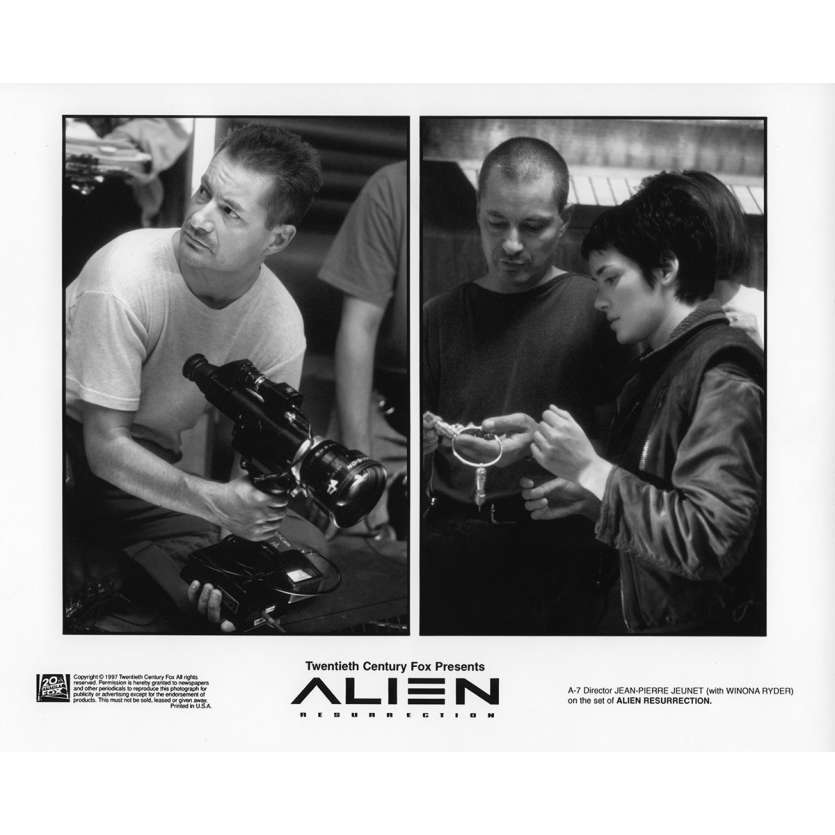 ALIEN LA RESURRECTION Photo de presse N1 20x25 cm - 1997 - Sigourney Weaver, Jean-Pierre Jeunet