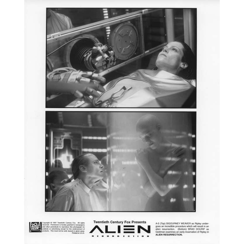 ALIEN LA RESURRECTION Photo de presse N2 20x25 cm - 1997 - Sigourney Weaver, Jean-Pierre Jeunet