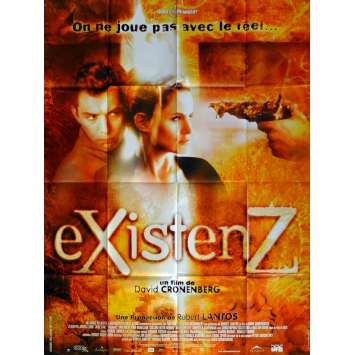EXISTENZ Affiche de film 120x160 cm - 1999 - Jude Law, David Cronenberg