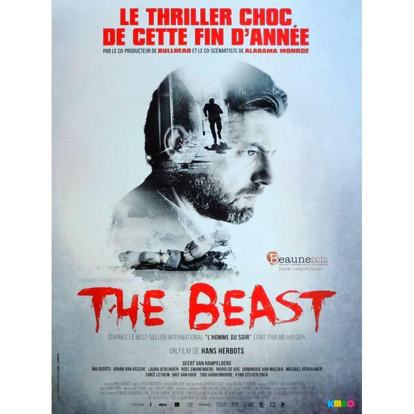 THE BEAST Affiche de film 40x60 cm - 2014 - Geert Van Rampelberg, Hans Herbots
