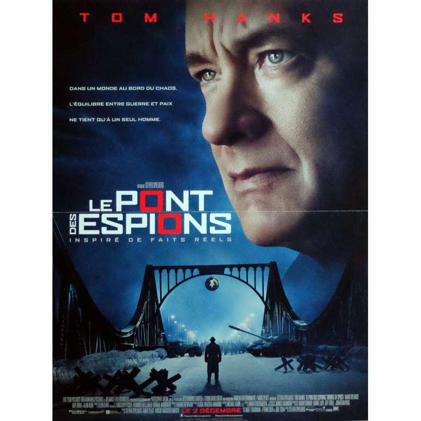 BRIDGE OF SPIES Movie Poster 32x47 in. French - 2015 - Steven Spielberg, Tom Hanks