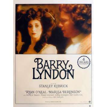 BARRY LYNDON Affiche de film 40x60 cm - R1980 - Ryan O'Neil, Stanley Kubrick