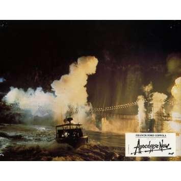 APOCALYPSE NOW Lobby Card N7 9x12 in. French - 1979 - Francis Ford Coppola, Marlon Brando