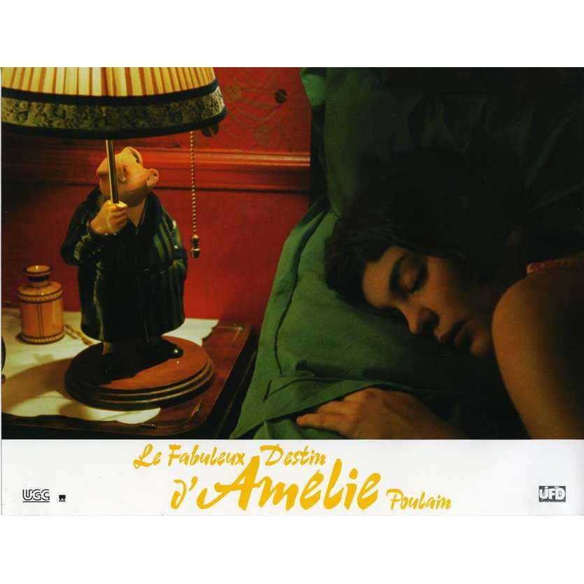 AMELIE Lobby Card N1 9x12 in. French - 2001 - Jean-Pierre Jeunet, Audrey Tautou