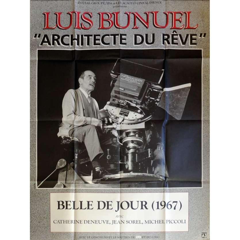 BELLE DE JOUR Affiche de film 120x160 cm - 1967 - Catherine Deneuve, Luis Bunuel