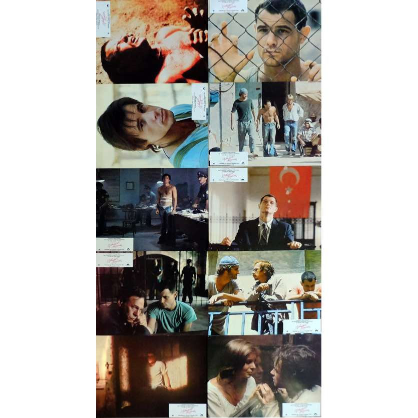 MIDNIGHT EXPRESS Lobby Cards x10 9x12 in. French - 1978 - Alan Parker, Brad Davis