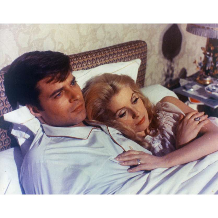 BELLE DE JOUR Lobby Card N1 9x12 in. French - 1967 - Luis Bunuel, Catherine Deneuve