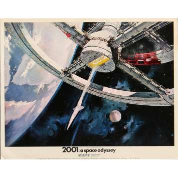 2001 A SPACE ODYSSEY Lobby Card FOH - Art 3 8x10 in. British - 1968 - Stanley Kubrick, Keir Dullea