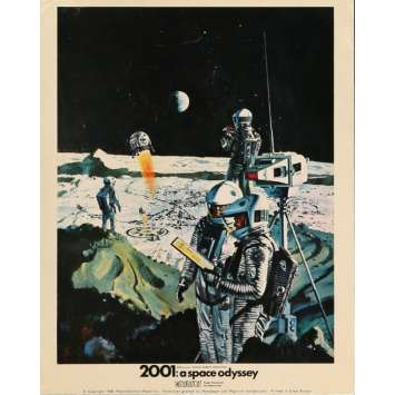 2001 A SPACE ODYSSEY Lobby Card FOH - Art 2 8x10 in. British - 1968 - Stanley Kubrick, Keir Dullea