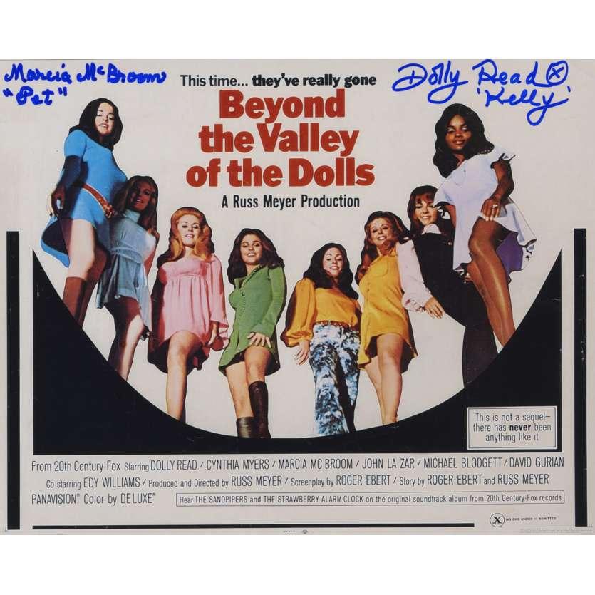LA VALLEE DES PLAISIRS Photo signée B 20x25 cm - 1970 - Dolly Read, Marcia McBroom, Russ Meyer