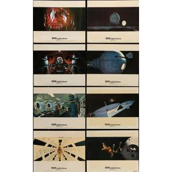 2001 A SPACE ODYSSEY Lobby Cards 8x10 in. USA - 1968 - Stanley Kubrick, Keir Dullea