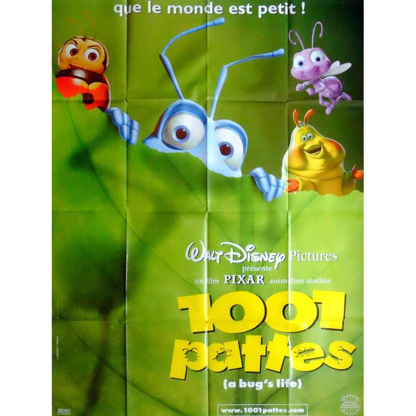 1001 PATTES Affiche de film 120X160 - 1998 - Disney, Pixar