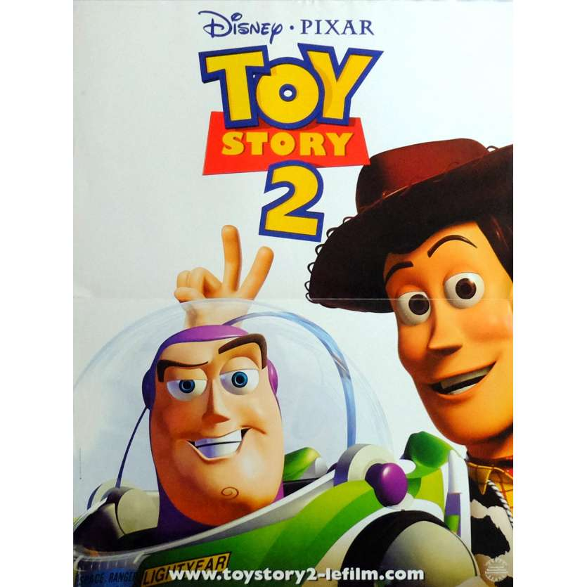 TOY STORY 3 French Movie Poster 15x21- 1999 - Disney, Pixar,