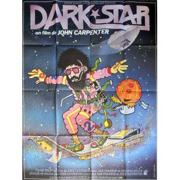 DARK STAR Movie Poster 47x63 in. French - 1980 - John Carpenter, Dan O'Bannon