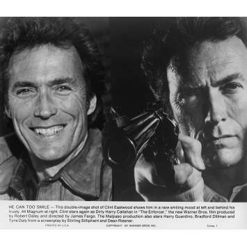 L'INSPECTEUR NE RENONCE JAMAIS Photo de presse N9 20x25 cm - 1976 - Clint Eastwood, James Fargo