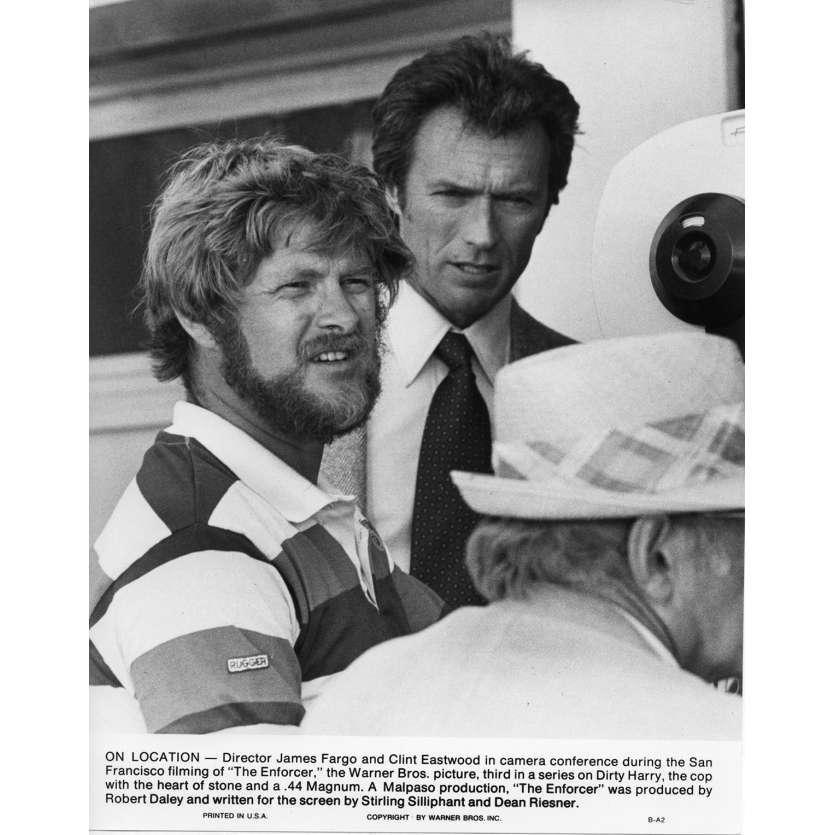 THE ENFORCER Movie Still N5 8x10 in. USA - 1976 - James Fargo, Clint Eastwood