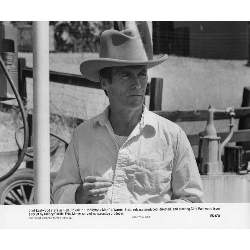 HONKYTONK MAN Movie Still N2 8x10 in. USA - 1982 - Clint Eastwood, Clint Eastwood