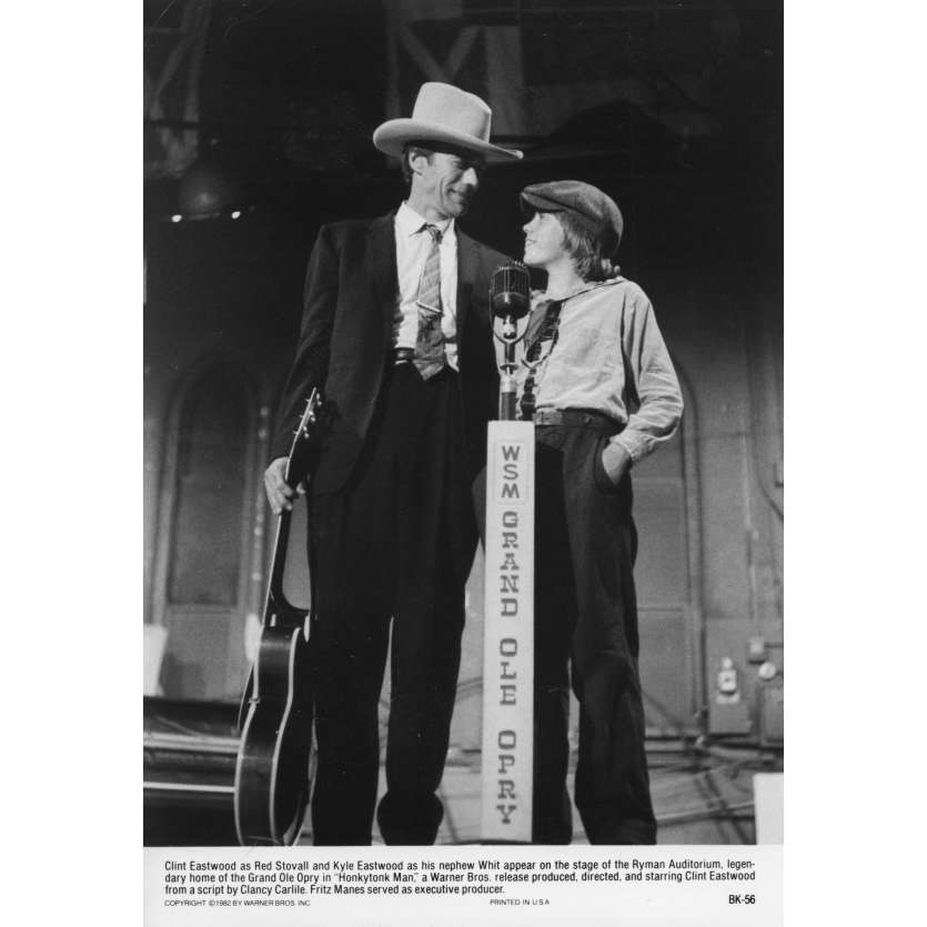 HONKYTONK MAN Photo de presse N1 20x25 cm - 1982 - Clint Eastwood, Clint Eastwood