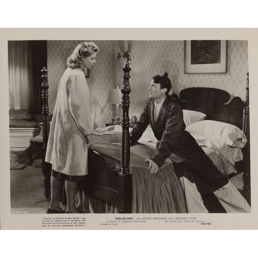 LA MAISON DU DOCTEUR EDWARDES Photo de presse N1 20x25 cm - R1949 - Ingrid Bergman, Alfred Hitchcock