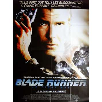BLADE RUNNER Movie Poster 47x63 in. French - R2015 - Ridley Scott, Harrison Ford