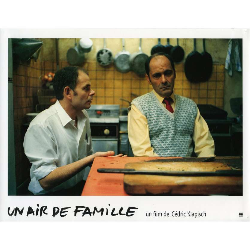 FAMILY RESSEMBLANCES Lobby Card N4 9x12 in. French - 1996 - Cédric Klapisch, Jean-Pierre Bacri