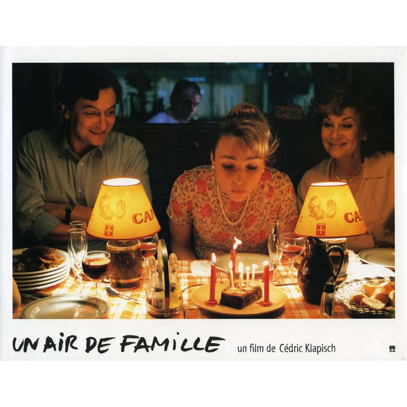 FAMILY RESSEMBLANCES Lobby Card N10 9x12 in. French - 1996 - Cédric Klapisch, Jean-Pierre Bacri