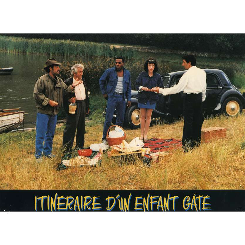 ITINERAIRE D'UN ENFANT GATE Photo de film N1 21x30 cm - 1988 - Jean-Paul Belmondo, Claude Lelouch
